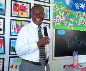 Premier Parry At Art Exhibition