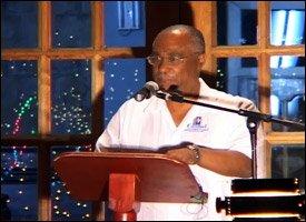 Nevis Premier At Tree Lighting Ceremony