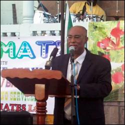 Nevis Premier At Independence Celebration Opening