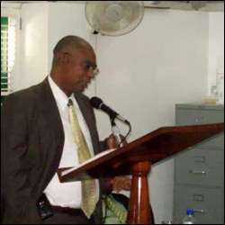 Nevis Premier Speaking In The House About Crime