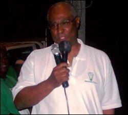 Nevis Premier Joseph Parry Campaigning