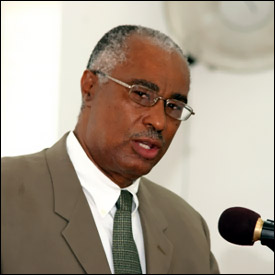 Premier Parry of Nevis