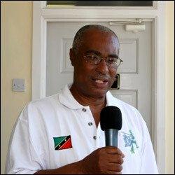 Nevis Island's Premier - Joseph Parry