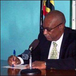 Premier Parry Signing Waterfront Development Agreement