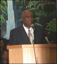 Nevis Premier Speaks At Baptist Conference
