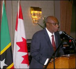 Nevis Premier - Joseph Parry - Speaks At NEVCAN