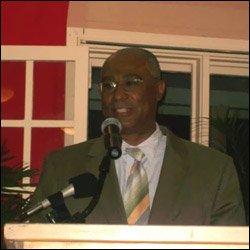 Nevis Premier Speaking At Tourism Awards