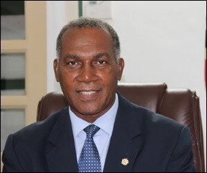 Nevis Premier - Vance W. Amory