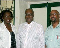 Nevis Premier With CARICOM Observers
