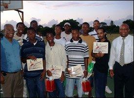 Nevis Premier With Graduates