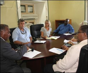 Nevis Premier With Private Sector Group