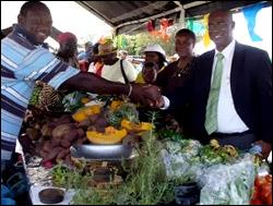 Nevis' Premier Parry With Vendors