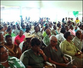 Crowd At Nevis Reformation Party 2009 Conference