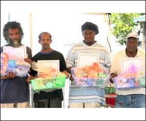 Nevis Sanitation Workers Awardees
