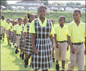 Nevis Youths On Parade