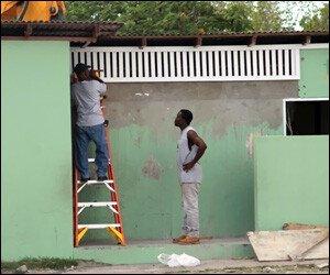 Nevis School Receives Restoration Work