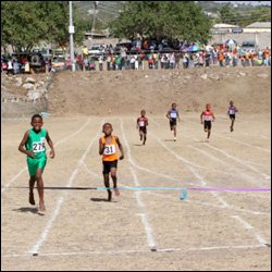 Young Nevis Athletes Participate In Track Meet