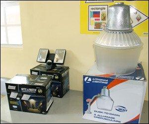 New Security Lights For Nevis Schools