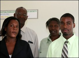 Nevis Sea Island Cotton Cooperative Board of Directors