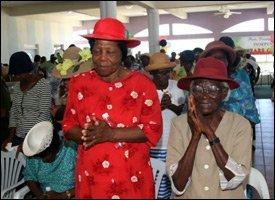 Nevis Senior Citizens In Prayer