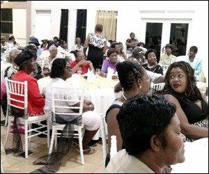 Nevis Seniors at 2015 Gala