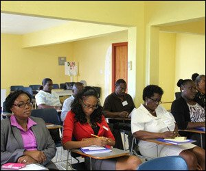 Nevis Small Business Training Participants
