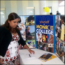 Nevis Student At 2nd Annual College Fair