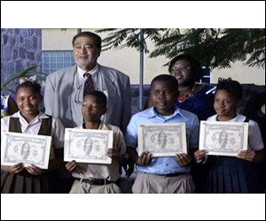 Nevis Students Receive Scholarship Awards