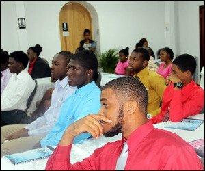 Nevis Summer Job Program Participants