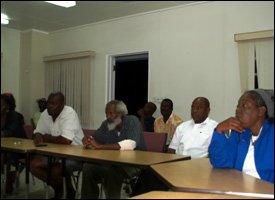 Nevis Taxi Association Meeting