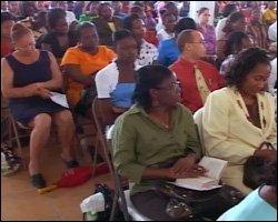 Nevis Teachers at Annual Teachers Professional Day