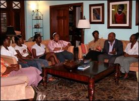 Teen Mothers Group Meets In Nevis