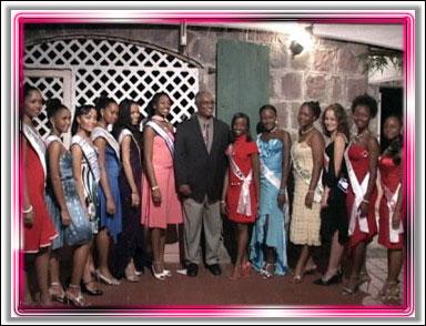 Miss Teen Caribbean Contestants In Nevis
