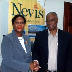 New Nevis Tourism CEO and Nevis Premier
