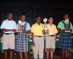 Nevis Student Tourism Quiz Winners