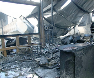 Fire Damage To The Nevis Treasury