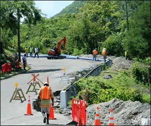 Nevis Water Works Construction