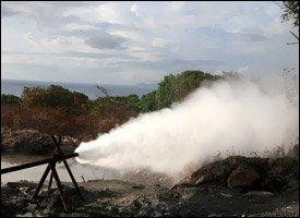 Geothermal Energy Well - Nevis Island