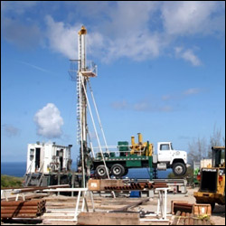 Nevis1 Geothermal Drilling Site