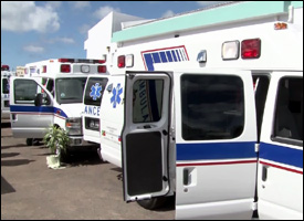 New Ambulances In St. Kitts - Nevis