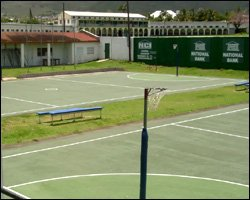 The New Netball Courts At Warner Park