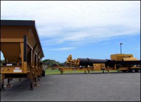 Parts For Nevis' New Asphalt Plant