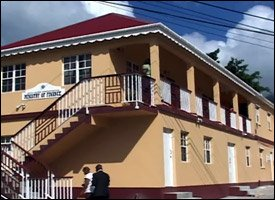 Nevis Finance Ministry's New Building
