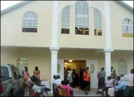 Nevis' New Shiloh Baptist Church