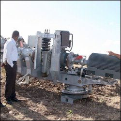 New Wind Turbine Arrives In Nevis