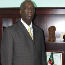 St. Kitts - Nevis' Police Commissioner - Mr. Walwyn