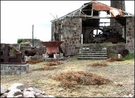 Sugar Mill Ruins - New River, Nevis