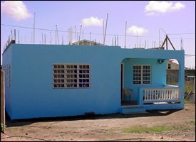 New St. Kitts Homes Under Construction