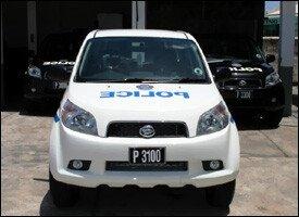 New St. Kitts - Nevis Police Vehicles