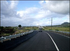 A Section Of The New West ByPass Road
